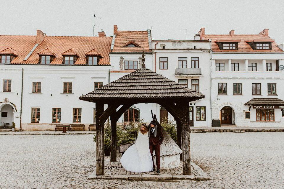 sesja ślubna w kazimierzu dolnym nad wisłą