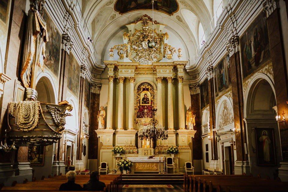 kościół w starej błotnicy