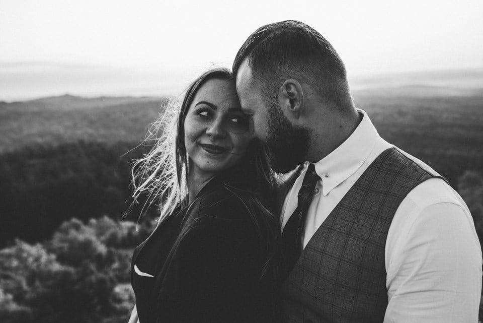 Sesja ślubna - Góra Zborów i Jura Krakowsko-Częstochowska o świcie 5