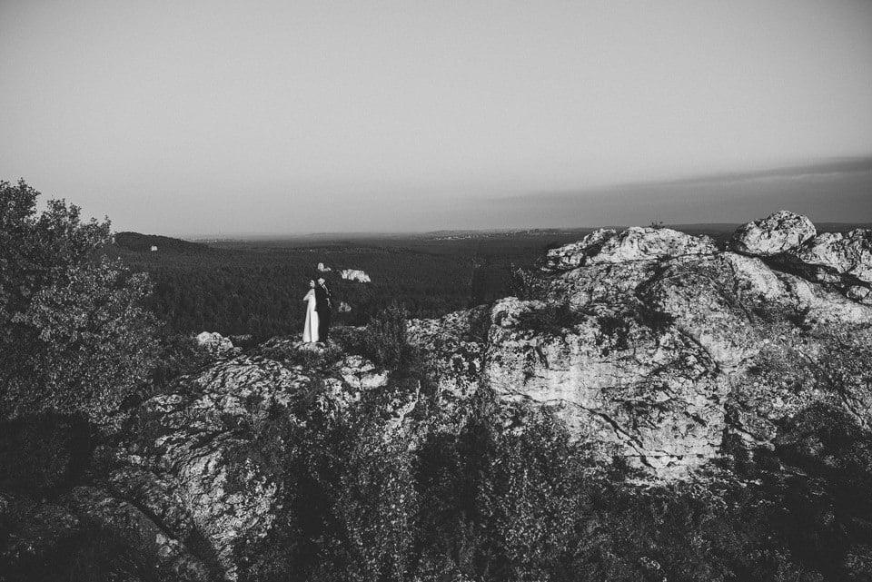 Sesja ślubna - Góra Zborów i Jura Krakowsko-Częstochowska o świcie 12