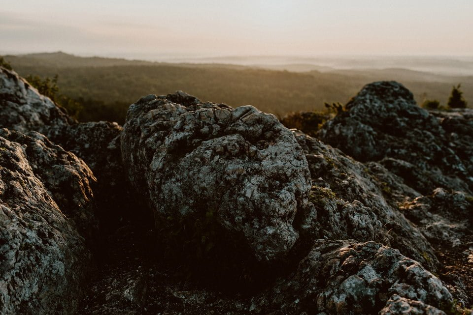 Sesja ślubna - Góra Zborów i Jura Krakowsko-Częstochowska o świcie 13