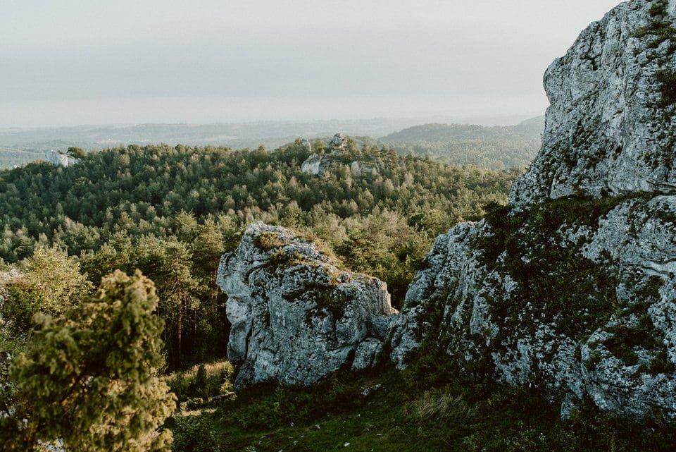 Sesja ślubna - Góra Zborów i Jura Krakowsko-Częstochowska o świcie 18