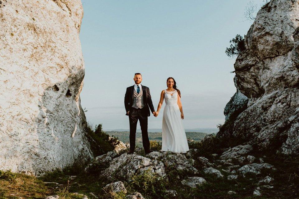 Sesja ślubna - Góra Zborów i Jura Krakowsko-Częstochowska o świcie 22
