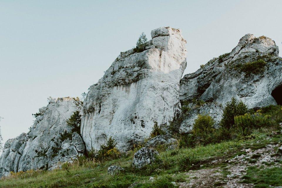 Sesja ślubna - Góra Zborów i Jura Krakowsko-Częstochowska o świcie 23