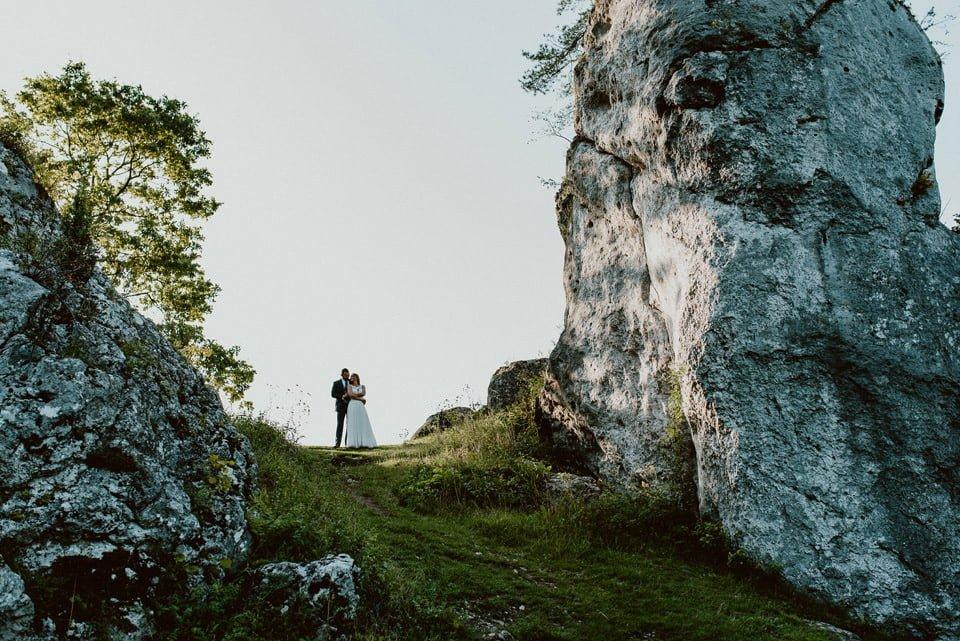 Sesja ślubna - Góra Zborów i Jura Krakowsko-Częstochowska o świcie 28
