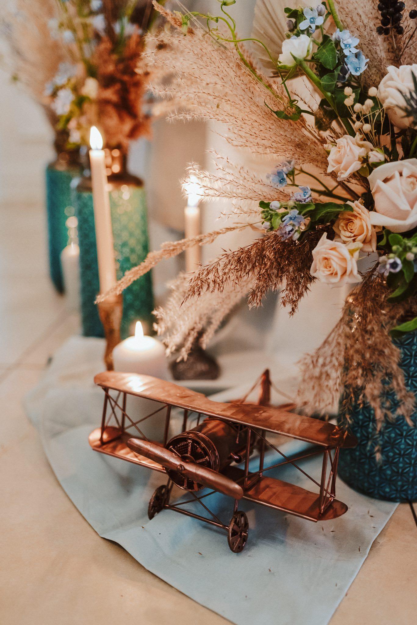 dekoracje ślubne kwiatowe