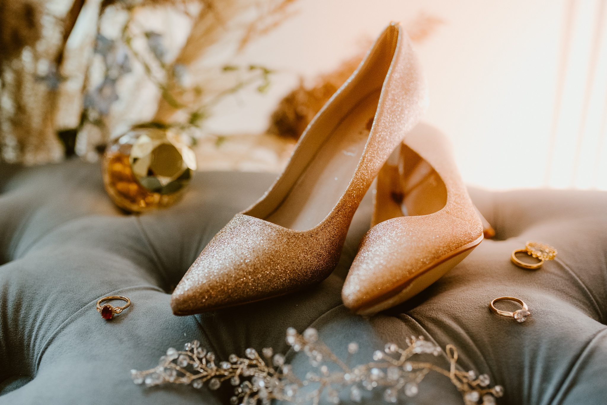 buty ślubne glamour