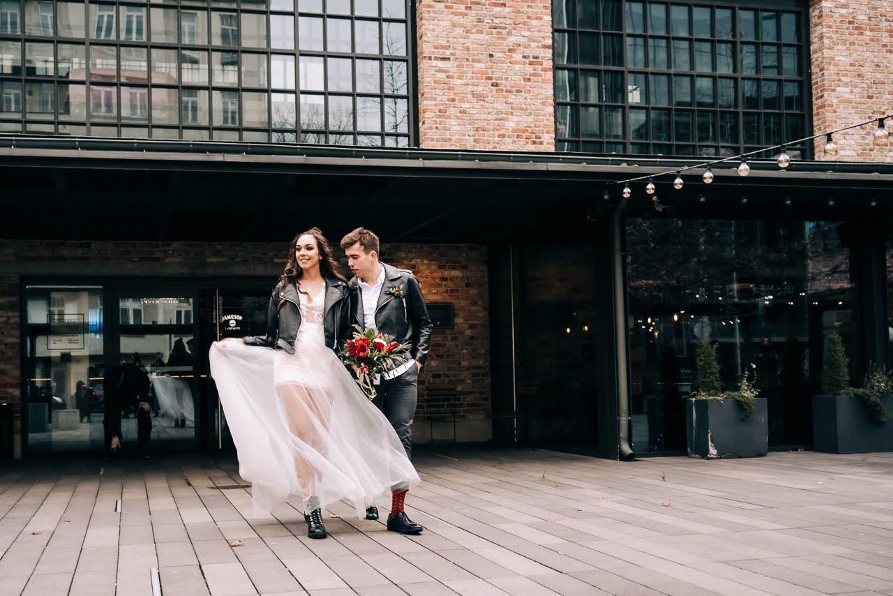 sesja ślubna brutal wedding