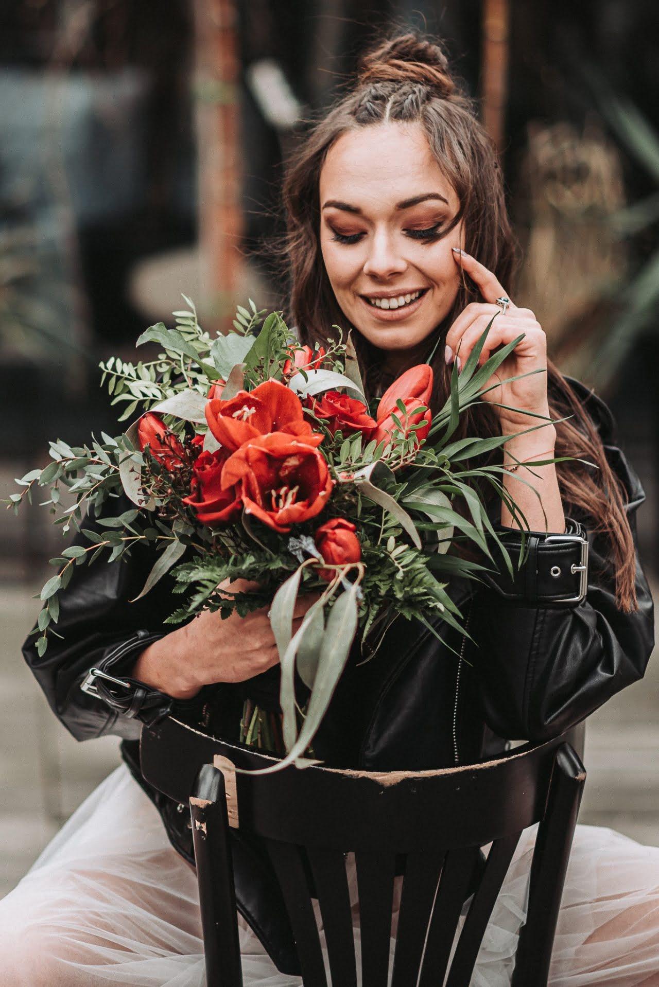 Sesja ślubna w stylu brutal wedding w Warszawie 1
